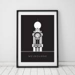 Dimmey's Clock Tower Print